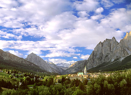 Cortina d'Ampezzo Italien